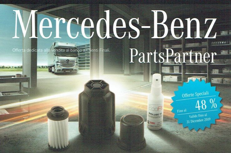 Offerta ricambi originali Mercedes-Benz Parts Partner 2019